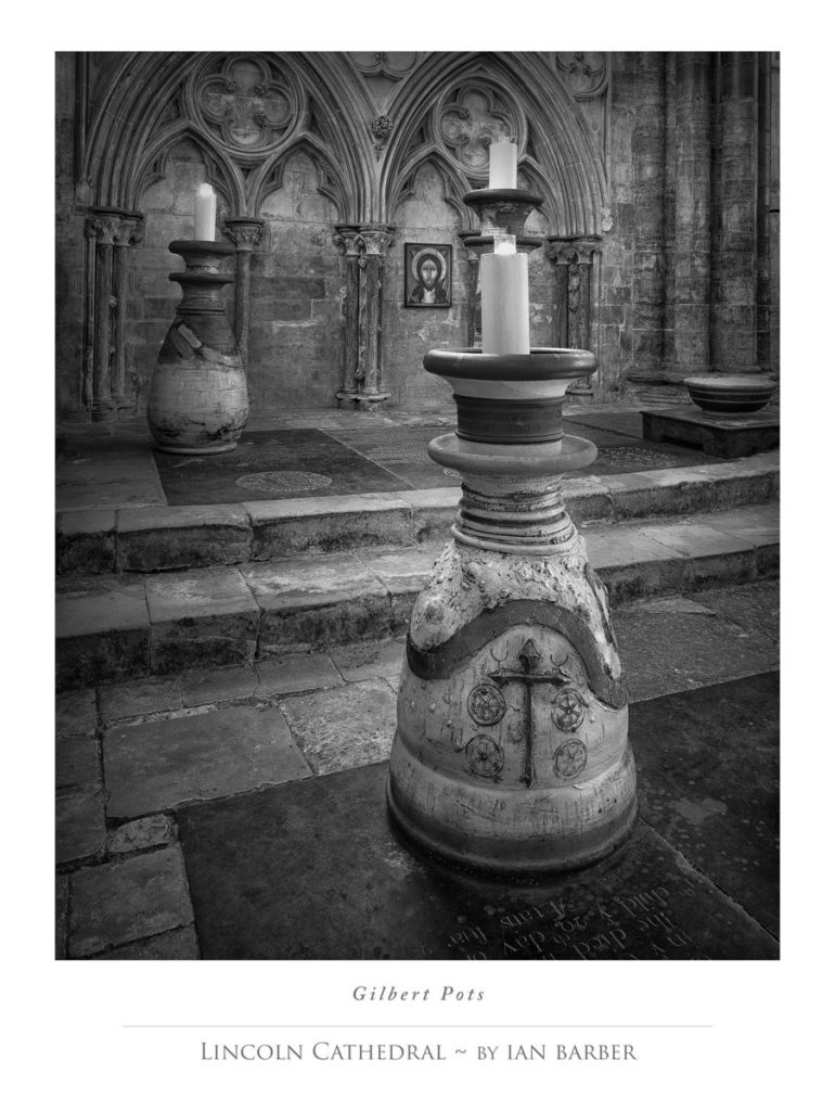 Lincoln Cathedral Gilbert Pots