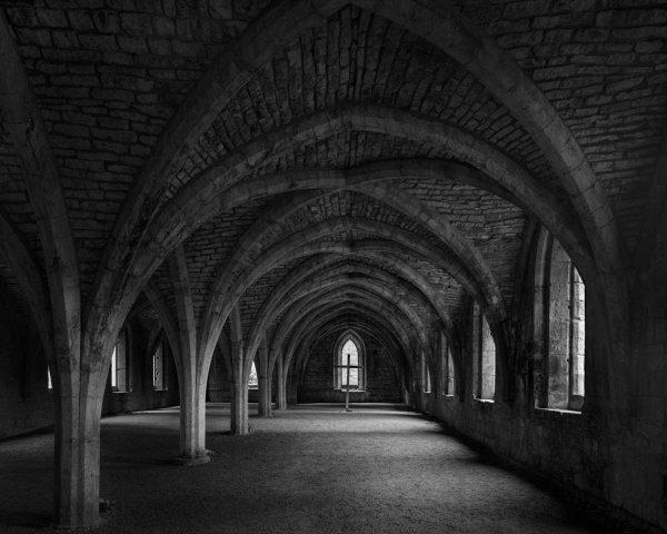 Fountains Abbey Cellarium Ian Barber Photography